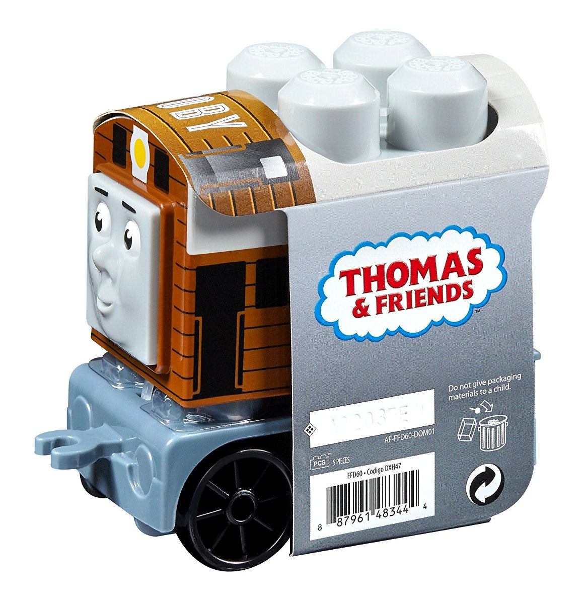 Juegos De Construir Vias De Trenes Mega Bloks Thomas And Friends Toby Kit De Construcción