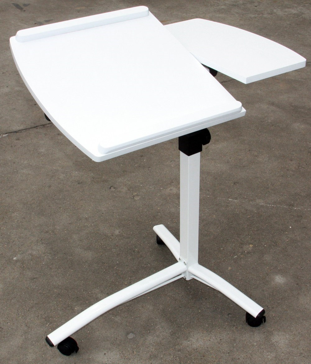 Mesa Table Mate Mesa Luxo Table Mate Notebook Ajustável Reclinável Branca