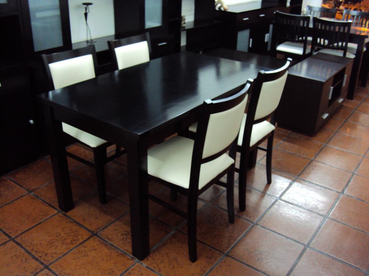 Comedores De Madera Venta | Mesas De Comedor Rústicas Coloniales Y ...