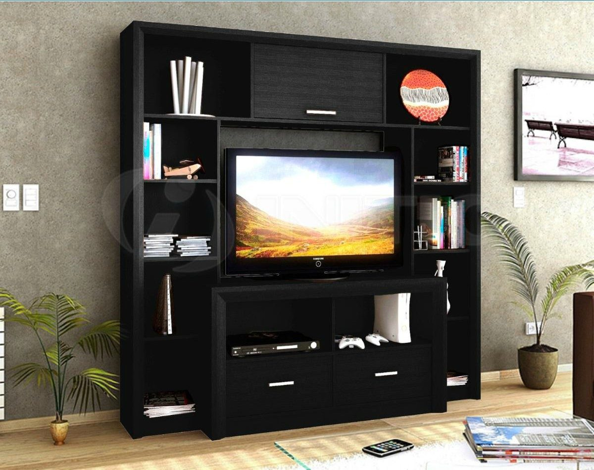 Multimuebles Para Tv Plasma Estante Repisa Mueble Modular Tv Plasma Flotante Bibliotec M