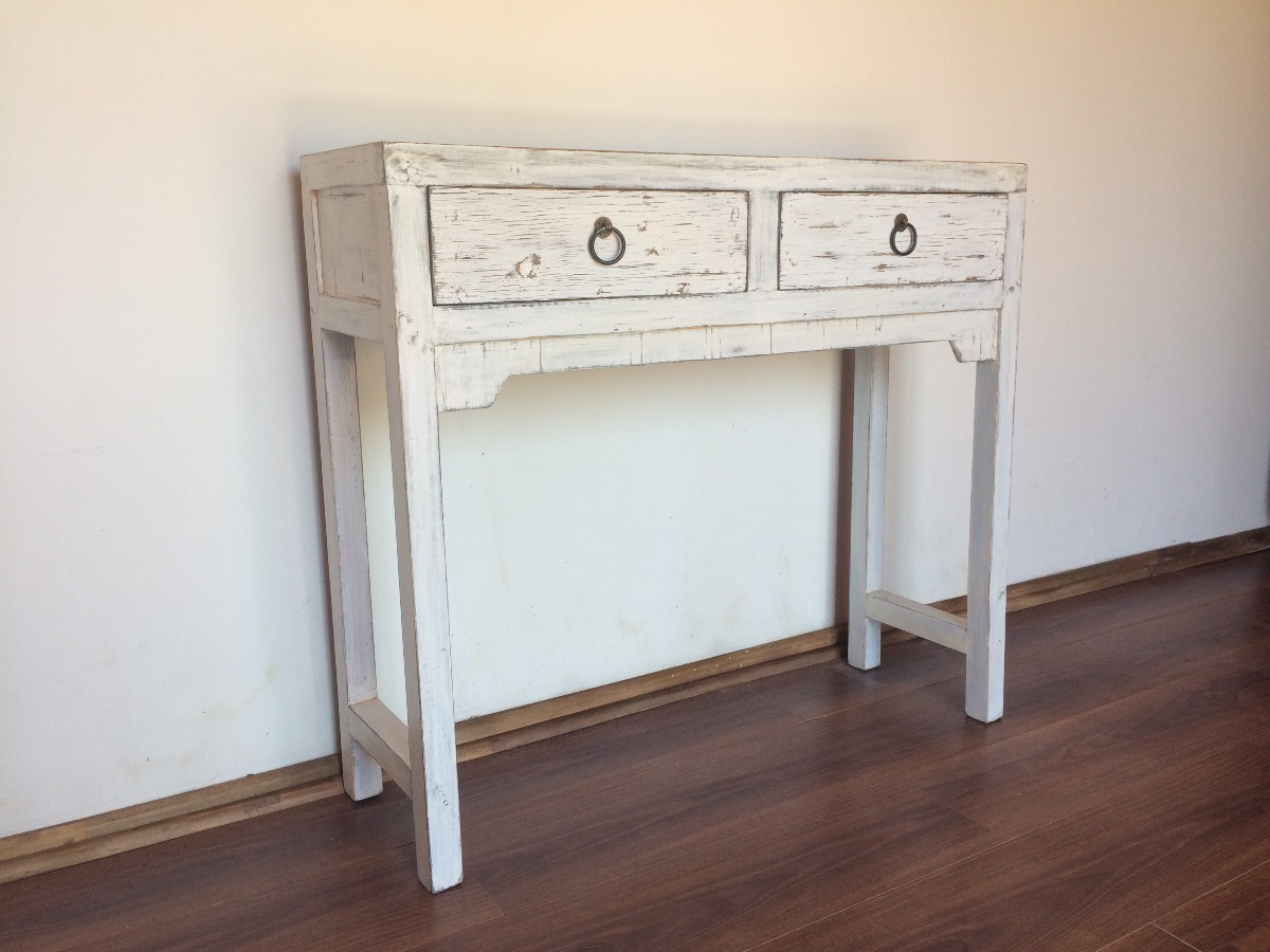 Mueble Estilo Mueble Arrimo Estilo Chino Color Blanco Rústico 120