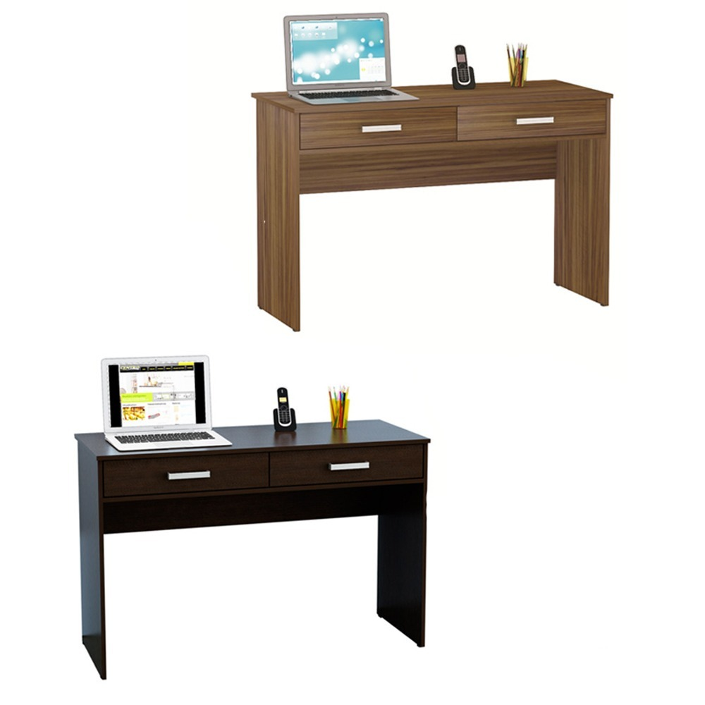 Mesa Escritorio 120 Mueble Escritorio Pc 120 Largo Color Melamina Oficina Mesa