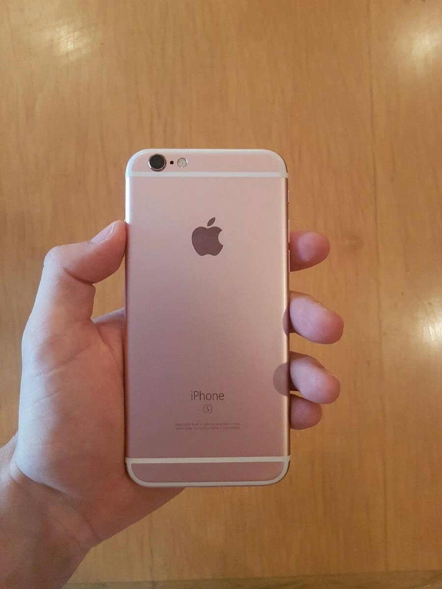 Como Saber Si Mi Iphone Es Libre Original Iphone 6s De 64gb Rosado Rosa Rose Libre S 1 400 00