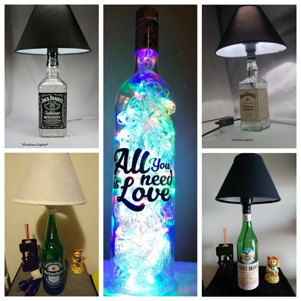Como Hacer Lamparas Con Botellas Como Hacer Lamparas Con Botellas De Vidrio Cheap Perfect