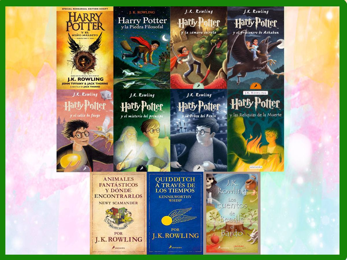 Pack Todos Los Libros De Harry Potter Harry Potter 11 Libros Epub Download Dream Pdf