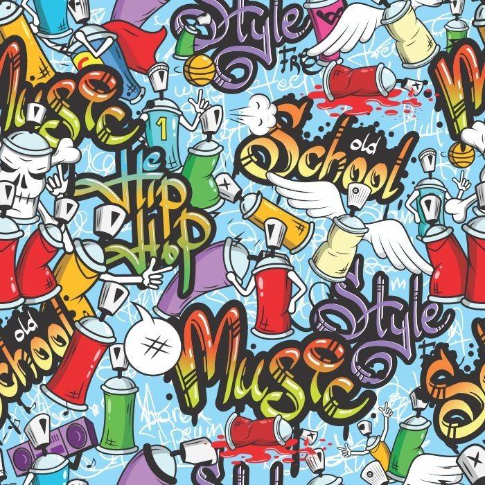Cool Gravity Falls Wallpaper Papel De Parede Adesivo Grafite Hip Hop 0 58m X 2 50m R