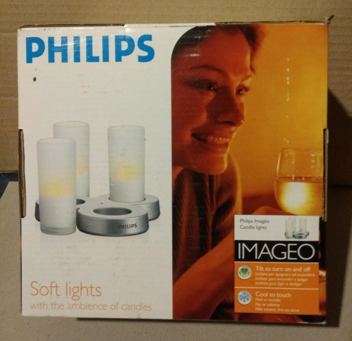 Philips Imageo Philips Imageo Luces Suaves Lamparas De Vela