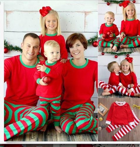 Pijamas De Navidad Juego Familiar Conjunto (kids, 10
