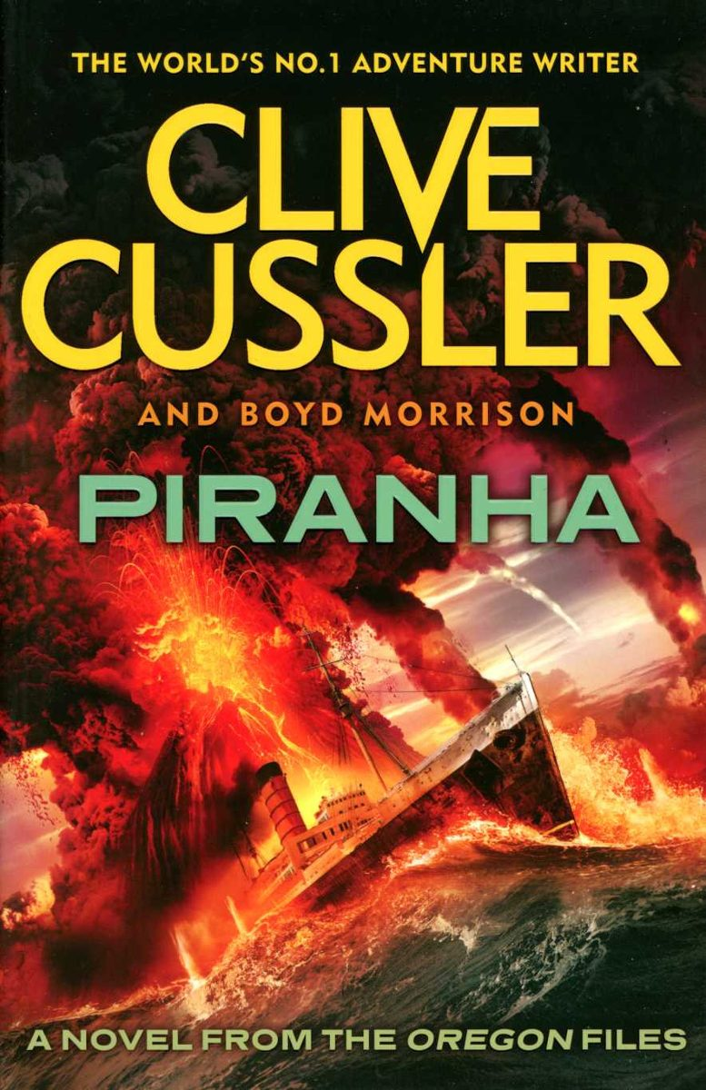Clive Cussler Libros Piranha The Oregon Files Vol 10 Clive Cussler