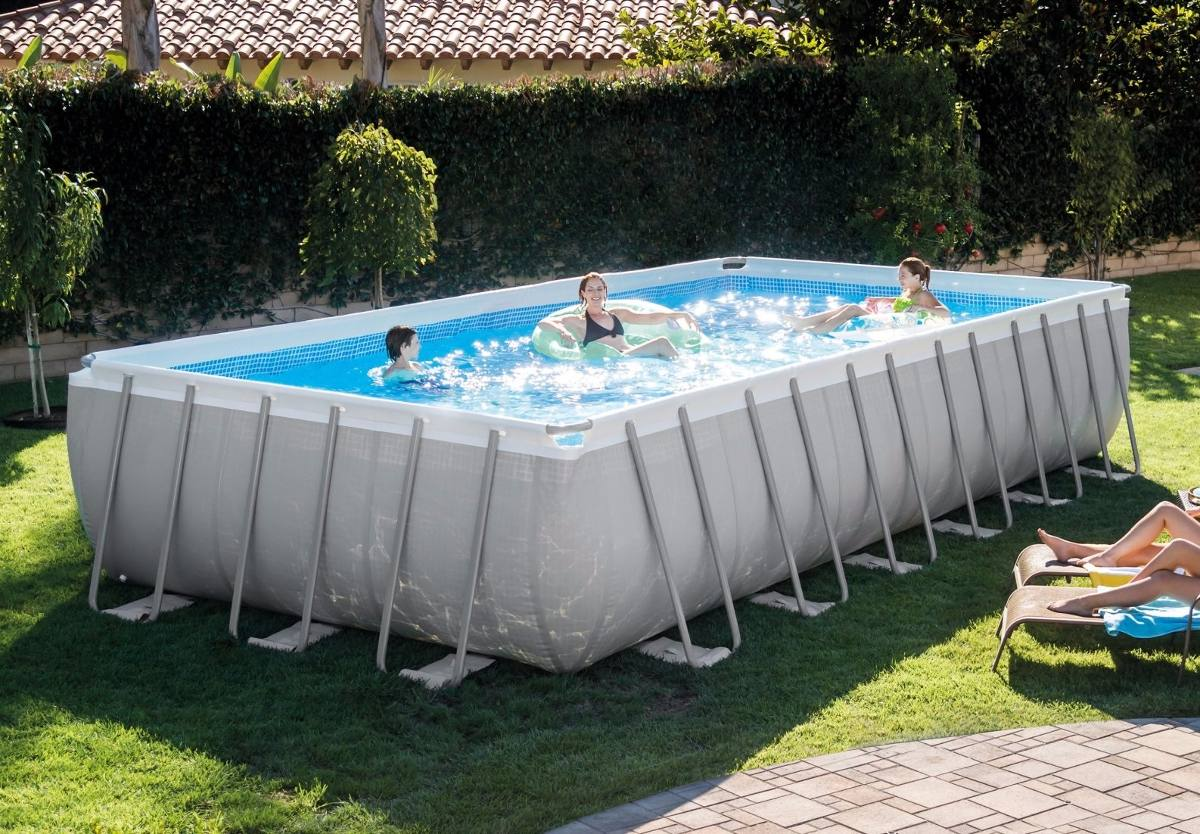 Piscina Intex 6000 Litros Medidas Piscina Estructural Intex 26361 7 32mt X 3 66mt X 1 32mt