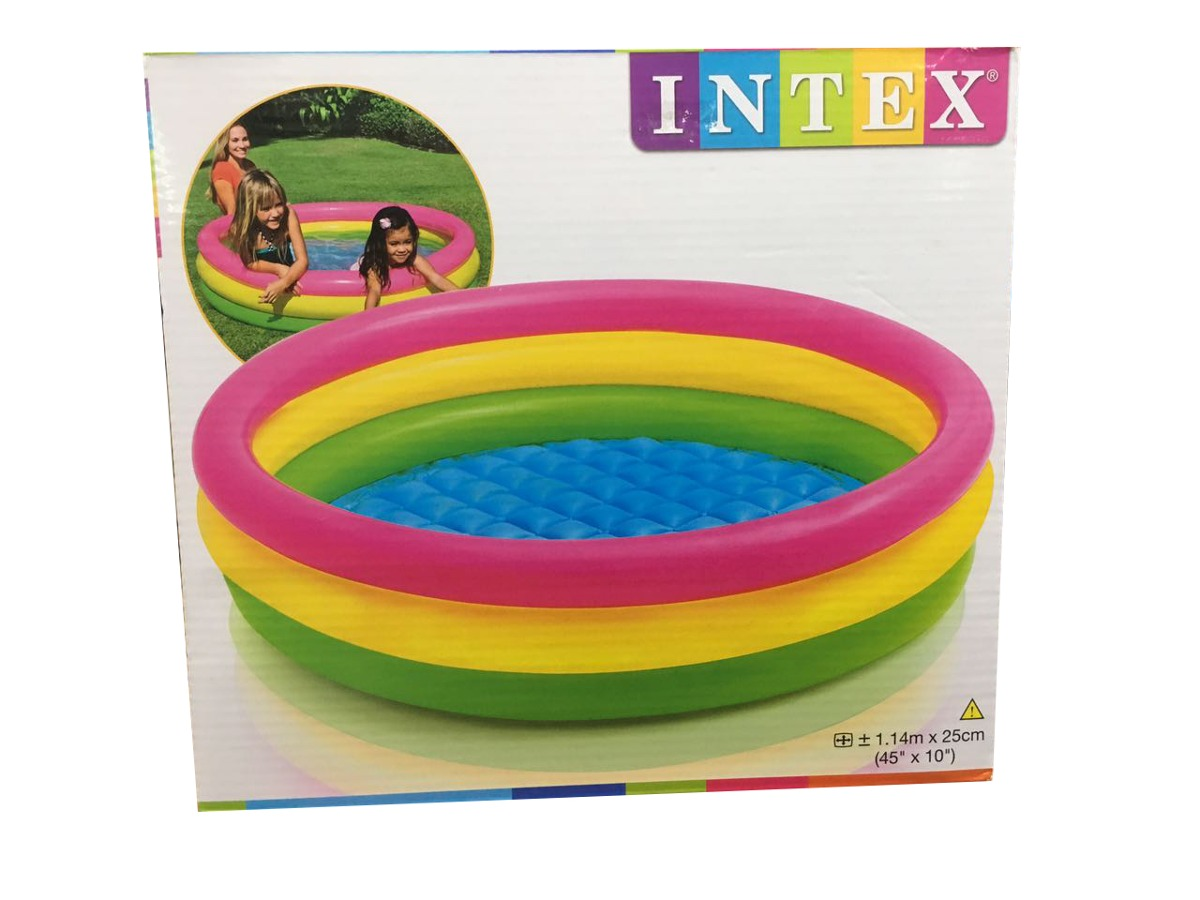 Piscina Intex Niños Piscina Inflable Niños Piscinas Intex 1 14m X 25cm Redondas