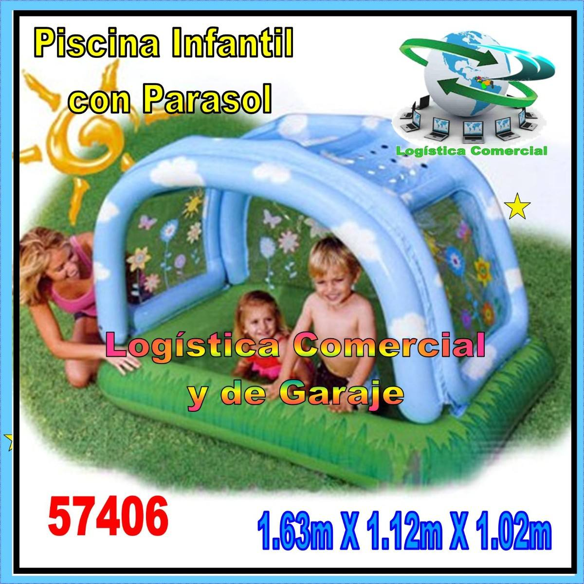 Piscina Intex Familiar Piscina Inflable Para Niños Intex 57406 Con Parasol O