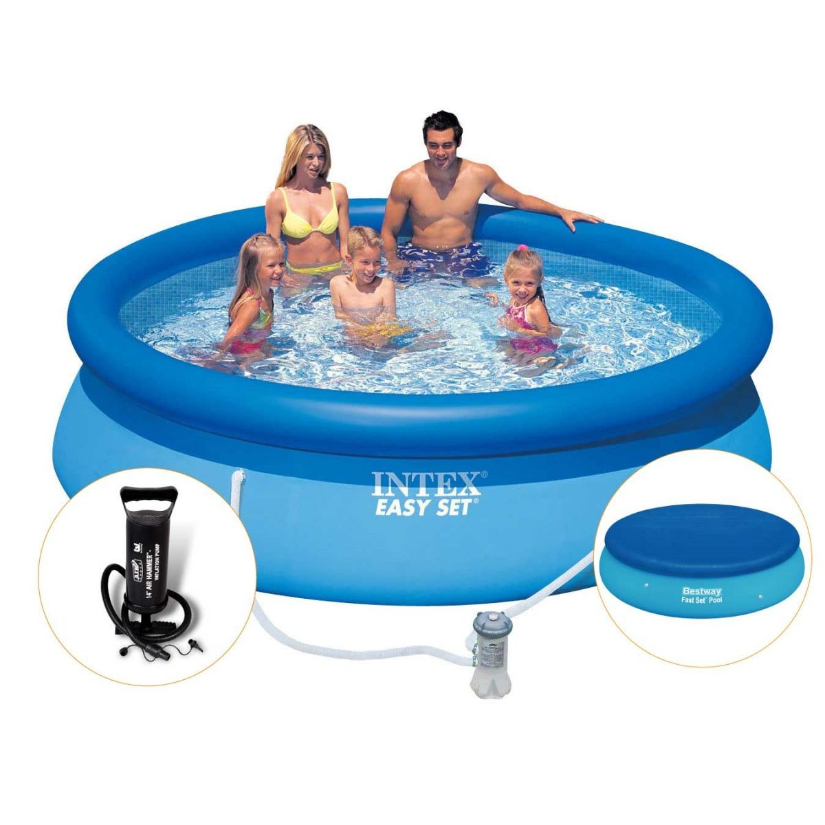 Capa De Piscina Intex Piscina Intex Inflavel 3 853 Litros Filtro Capa Bomba