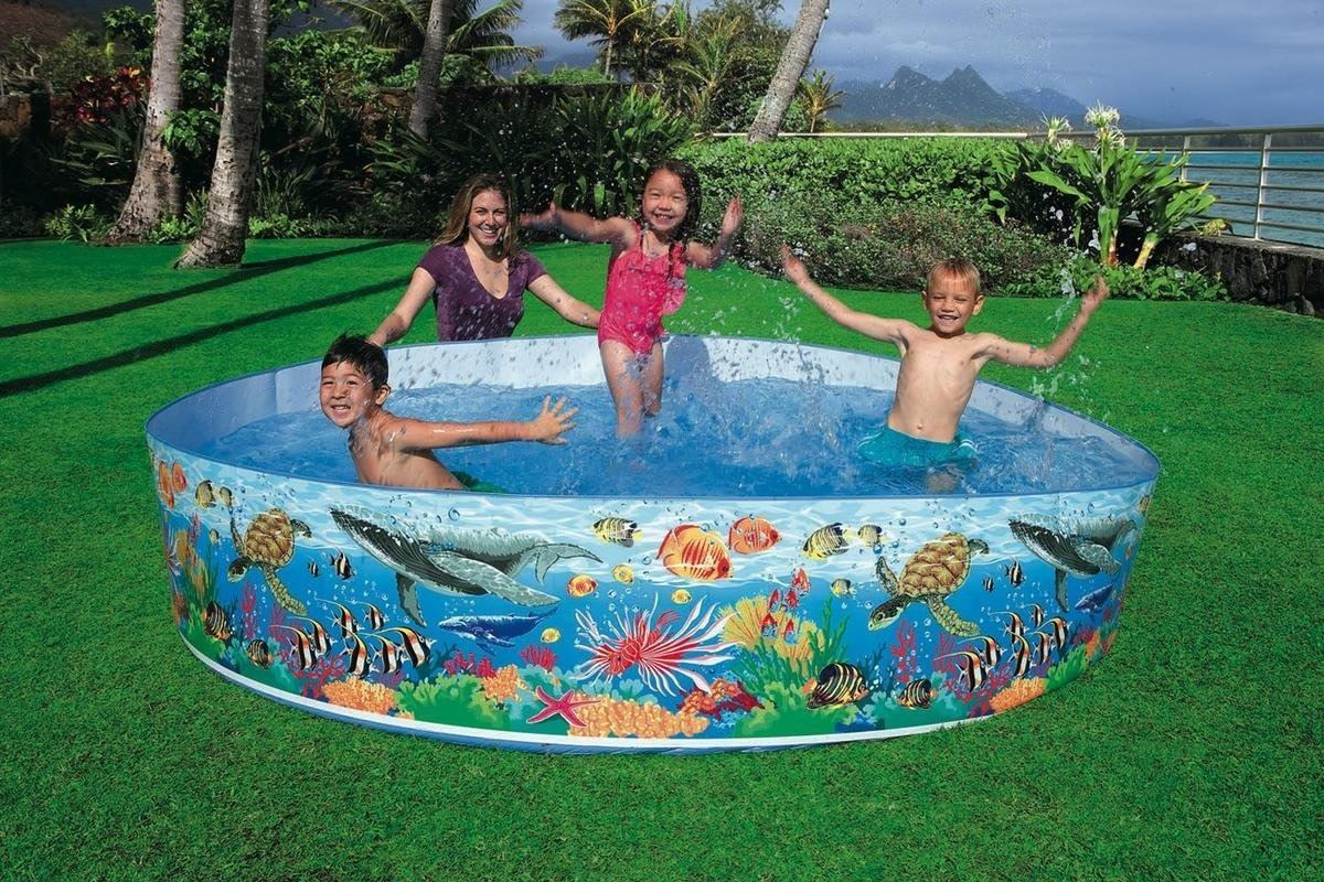Piscinas Rigidas Piscina Rigida Familar Intex 58472np