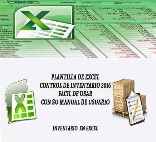 Plantilla Hoja Excel Control De Inventario Entradas Salidas - formato inventario en excel