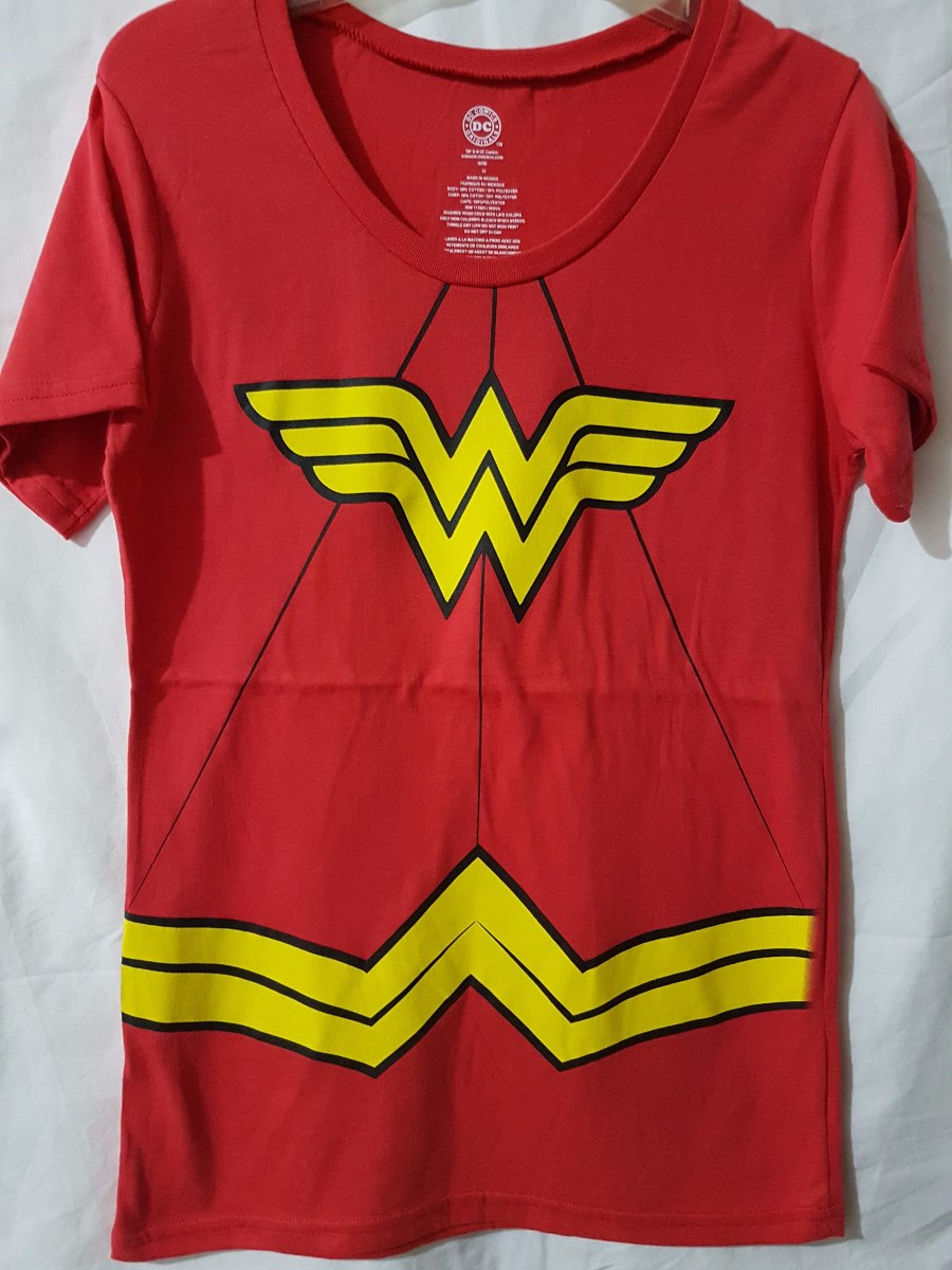 Mercado Libre Mexico Df Playera Mujer Maravilla ( Wonder Woman ) Original Dc