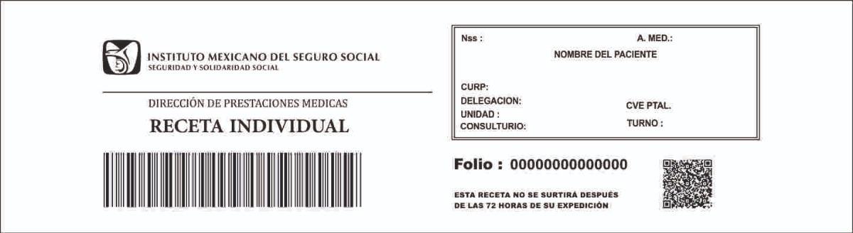 Formato De Receta Del Imss 2018 wwwimagenesmy