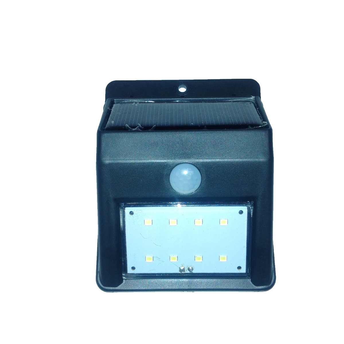 Lamparas Led Para Patios Reflector Lampara Solar 8 Led Para Patio Jardin Frente Casa