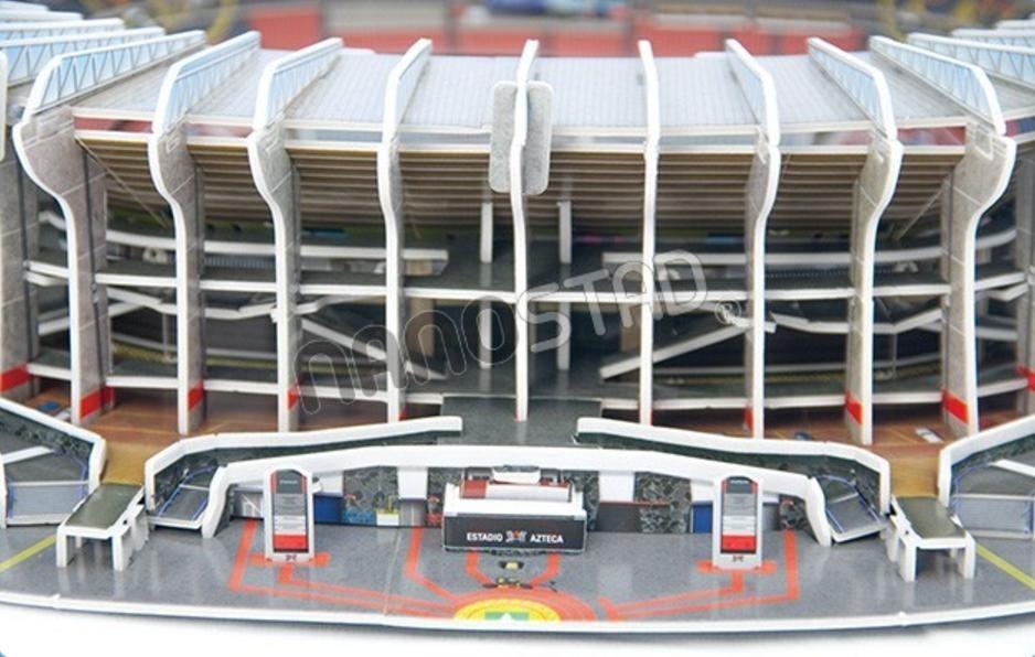 Club America Wallpaper 3d Rompecabezas 3d Nanostad Estadio Azteca Club F 250 Tbol