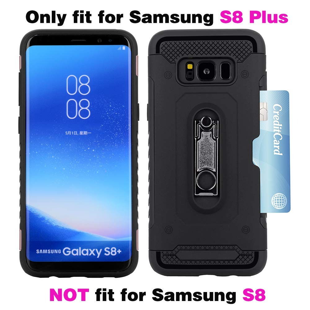 S8 Glas Samsung Galaxy S8 Plus Wallet Phone Funda With Tempered Glas