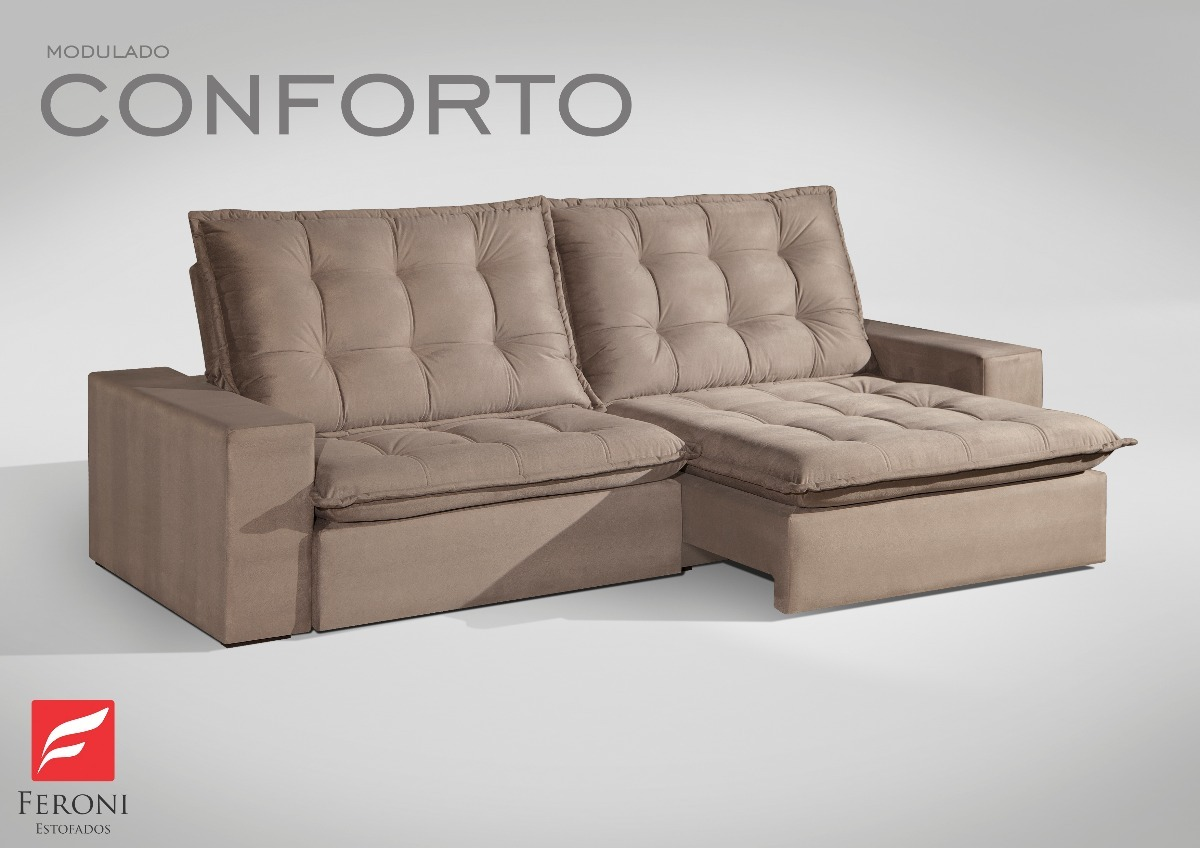 Sofa Retratil Uba Mg Sofá Retrátil E Reclinável 2 10 Conforto Confort Ubá Decor