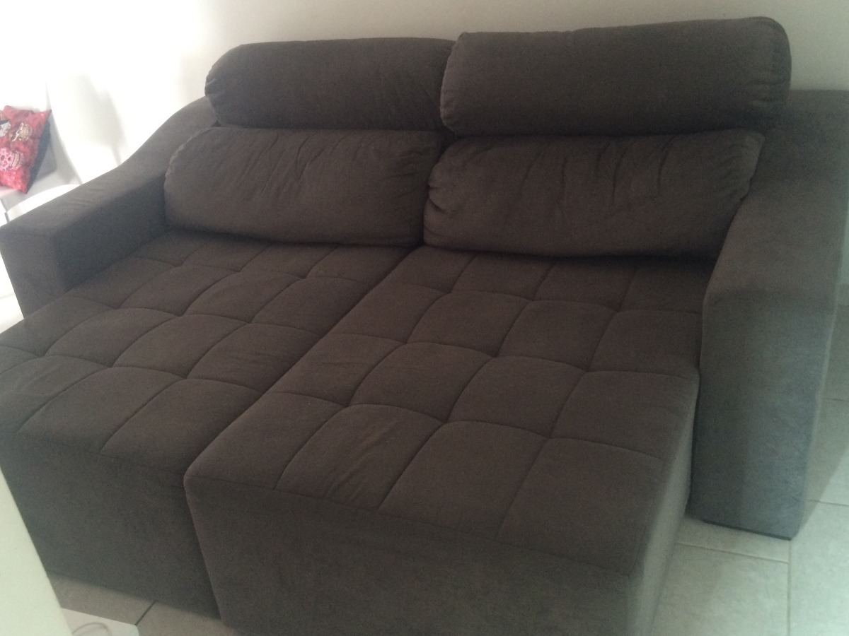 Sofa De 2 Lugares Retratil Usado Sofa Retratil Usado Mercado Livre Baci Living Room