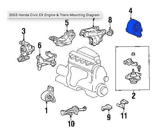 2003 Honda Civic Ex Engine Diagram. 97 civic fuel filter