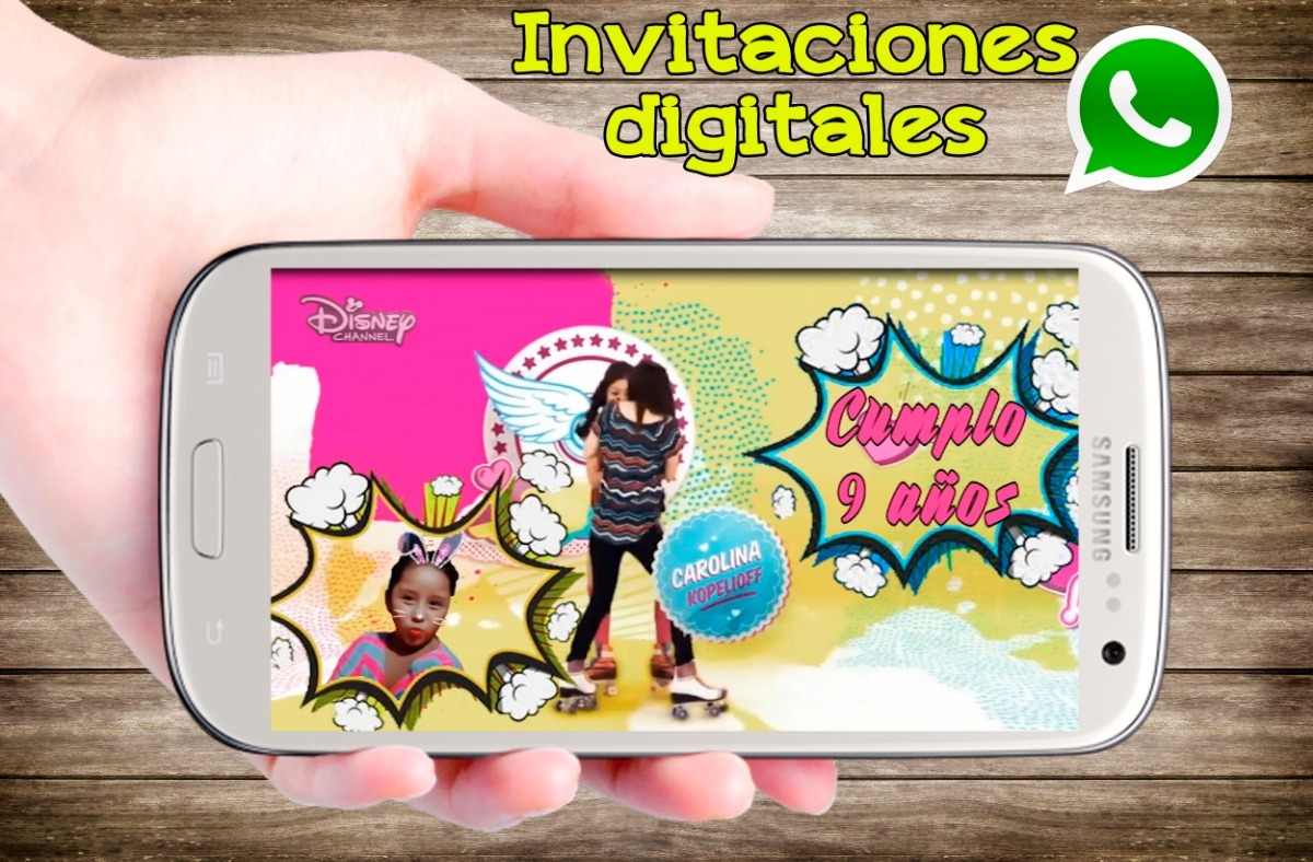 Video Libre Soy Soy Luna Video Invitaciones Animadas Cumpleaños Whatsapp