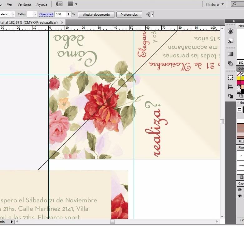 Tarjeta / Invitación Lúdica Para Imprimir ( Formato Pdf ) - $ 350,00 - formato para invitacion