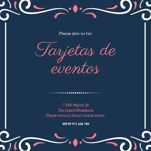 Tarjetas Para Fiestas Online - S/ 3,00 en Mercado Libre