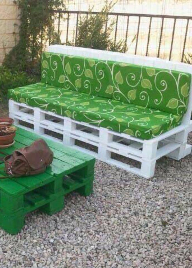 Terrazas Y Muebles De Palet A Medida - $ 11111 en Mercado Libre - Terrazas Con Palets