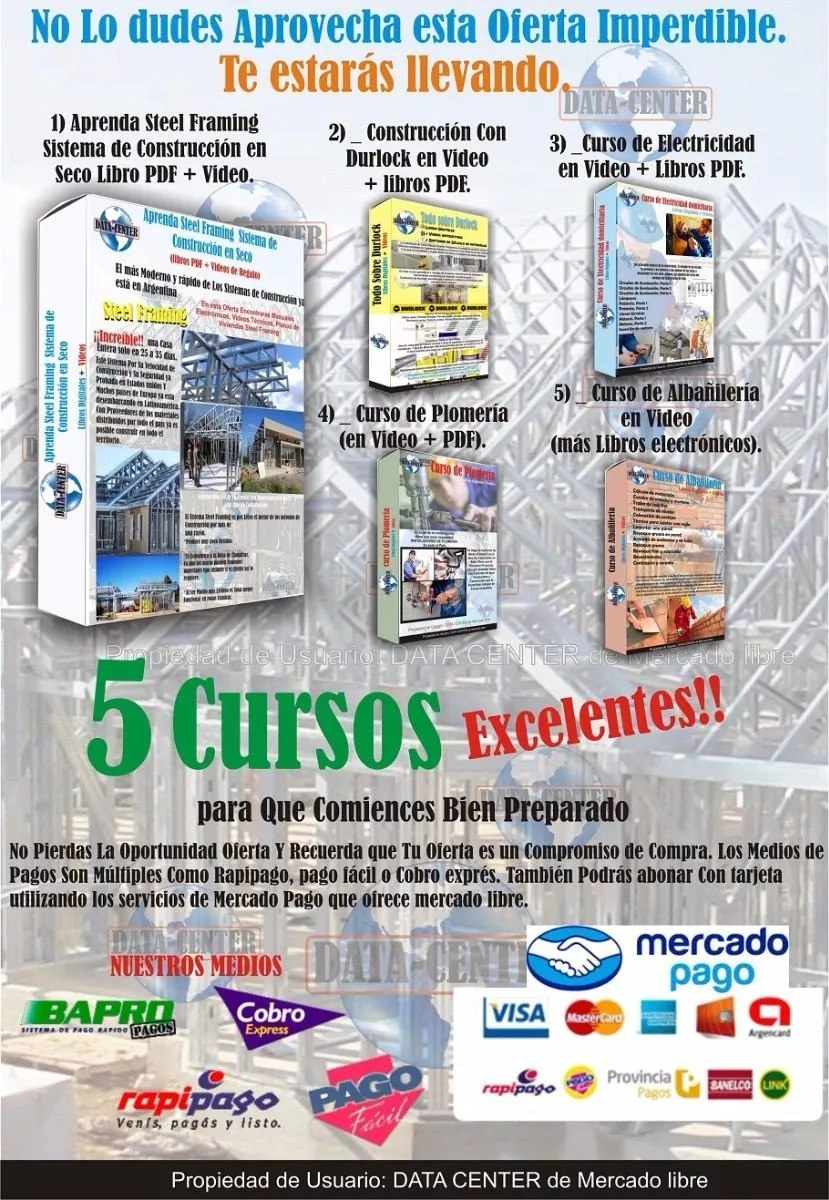 Todo Sobre Libros Electronicos Todo Sobre Steel Framing Video De Regalo En Discos