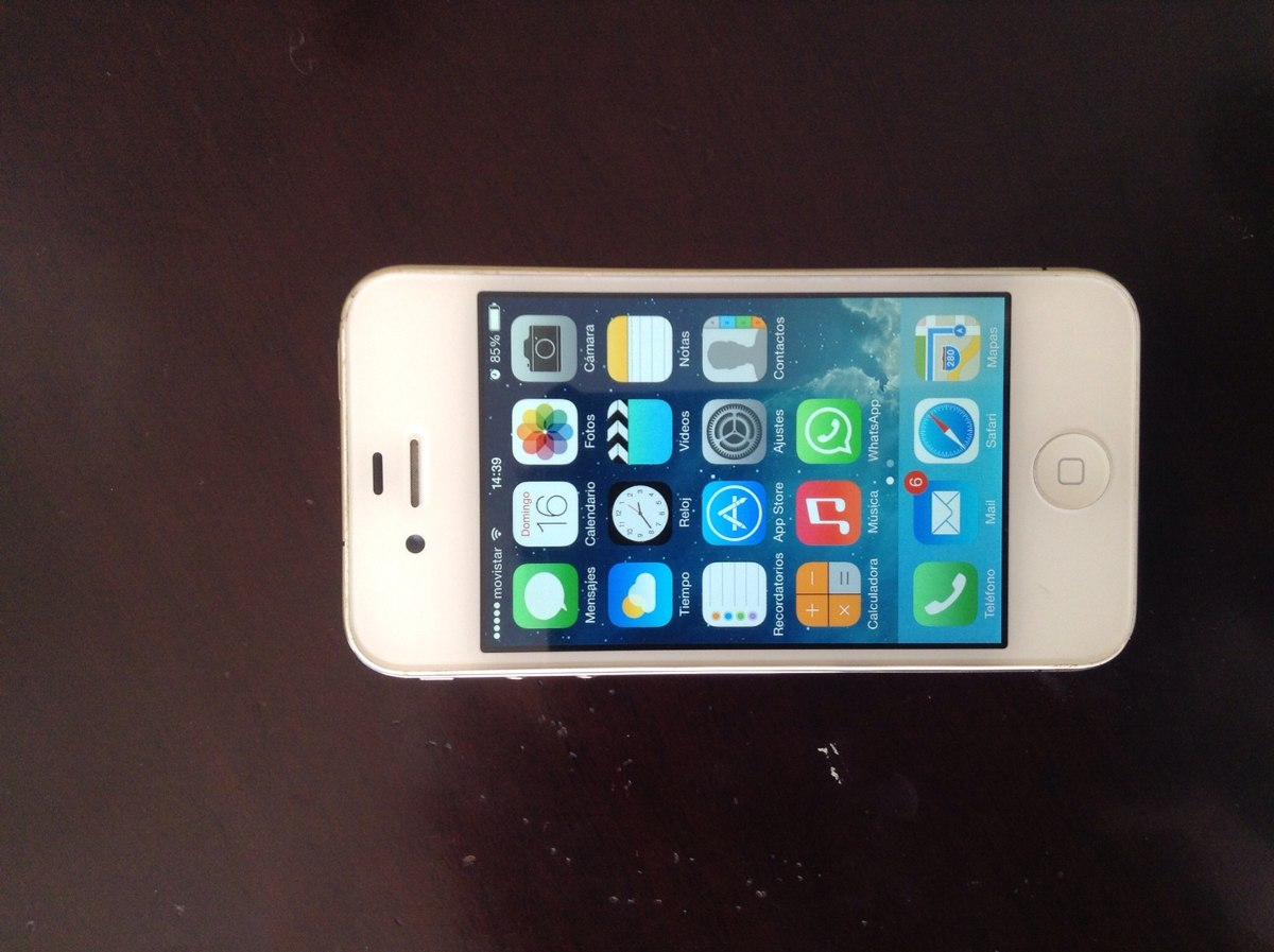 Vender Iphone 4 Libre Vendo O Permuto Iphone 4 Blanco 8gb 80 000 En Mercado