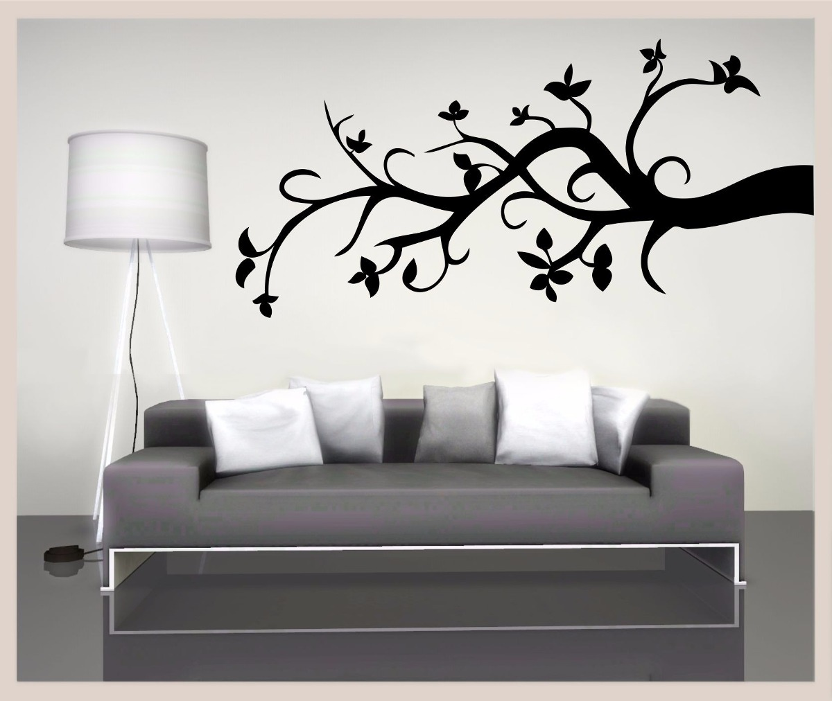 Vinilo Decorativo Pared Vinilo Decorativo Arbol Y Rama Decoracion De Paredes S