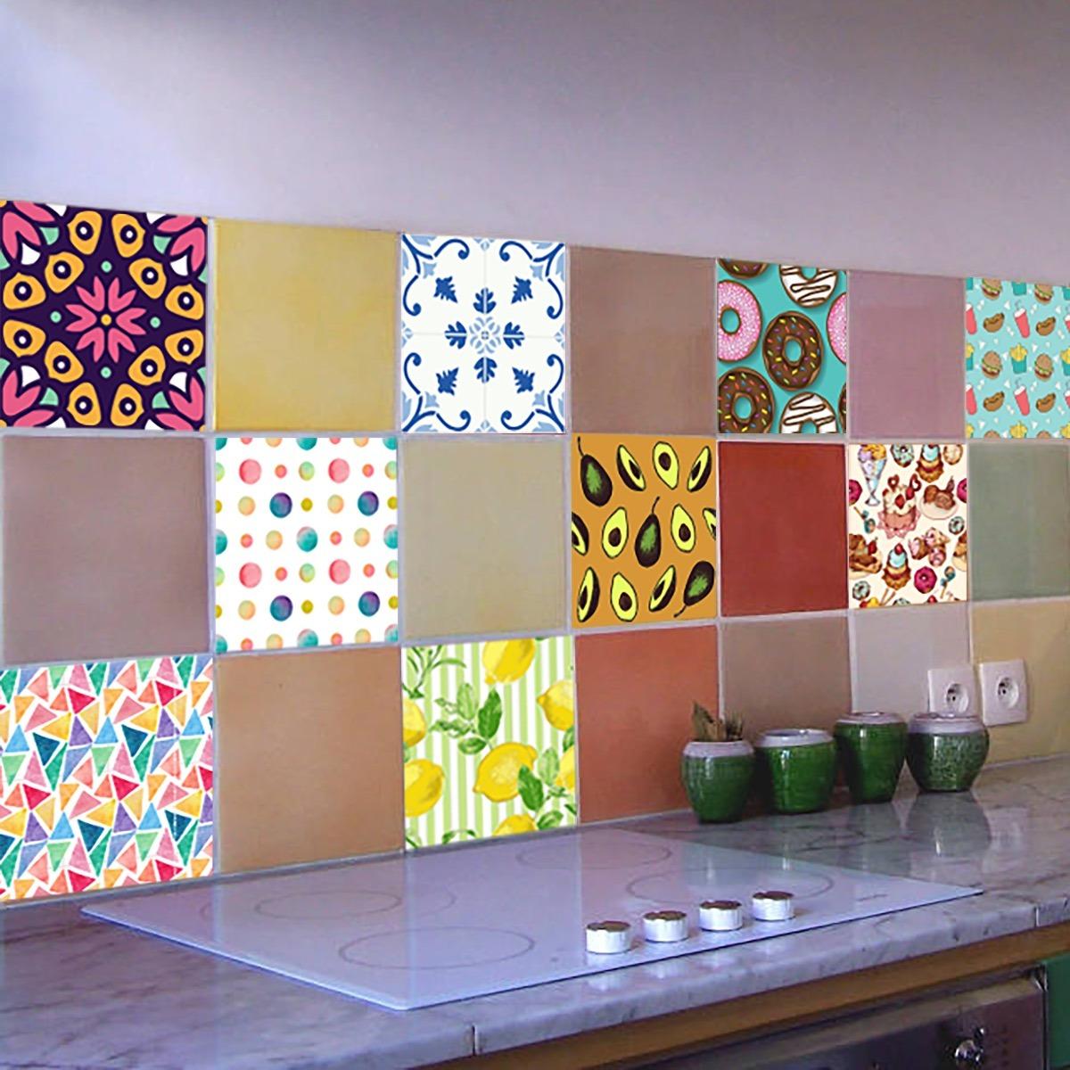 Vinilos decorativos azulejos ba o vinilos azulejos ba o for Vinilos azulejos bano leroy merlin