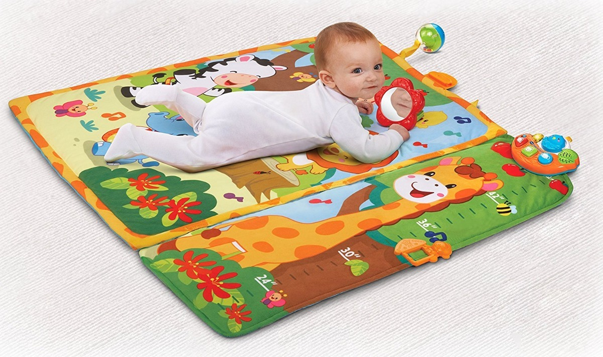Tapete Jungle Vtech Giggle Grow Jungle Tapete Gimnasio Bebé