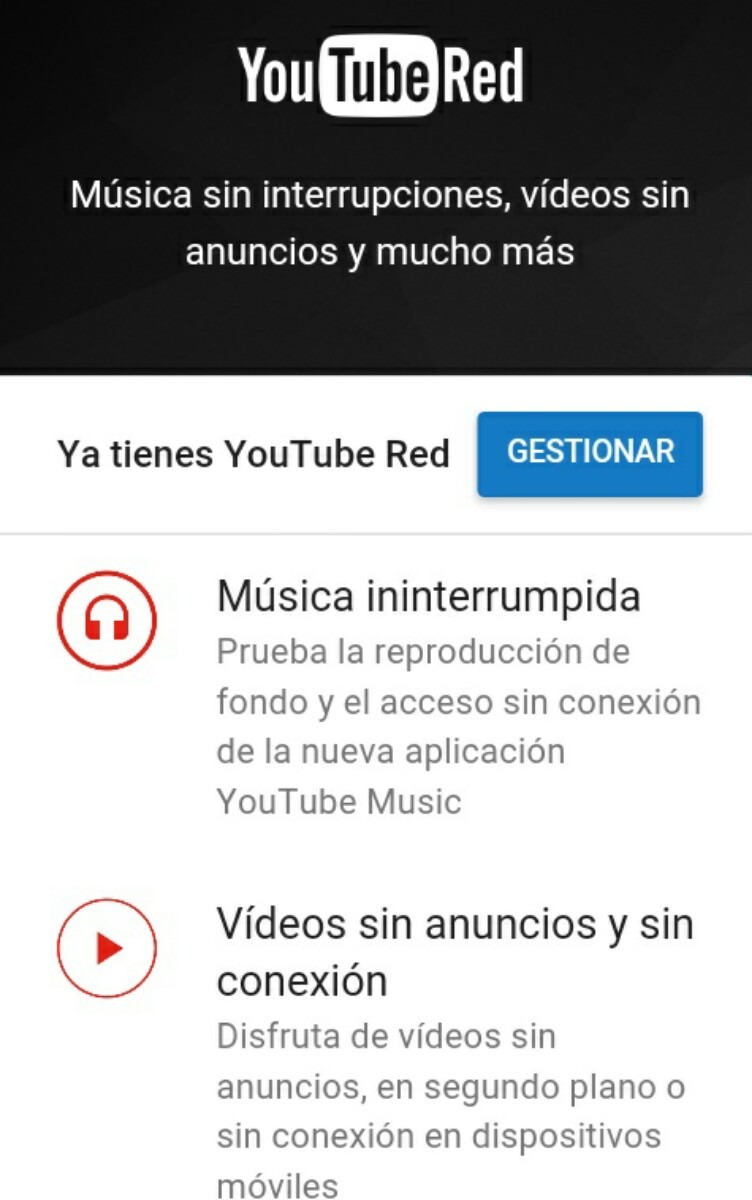 Musica Libre Youtube Youtube Red 2 Meses Con Google Play Music