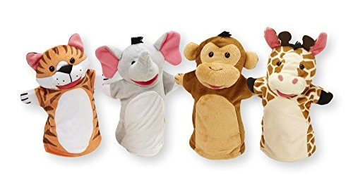 Zoo Friends Marionetas Titeres Peluche Titeres