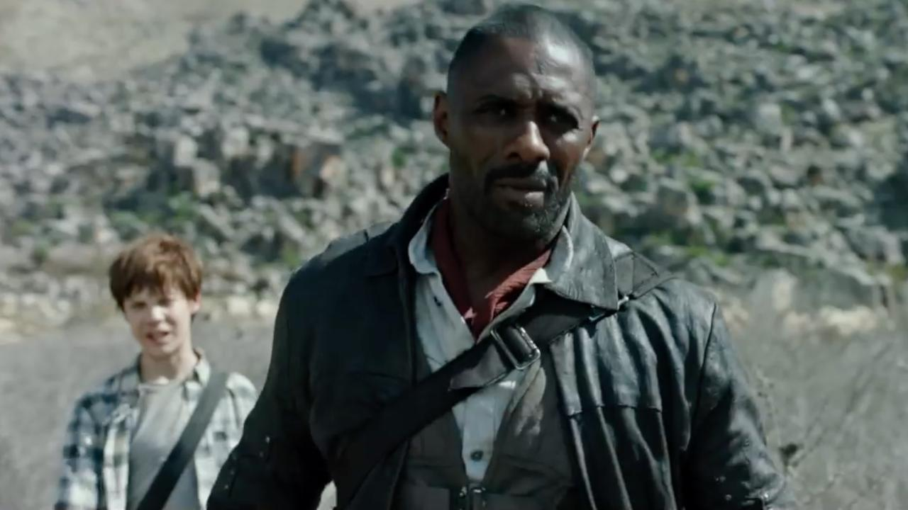 Idris Elba Films Dark Tower Scenes With Tom Taylor As Jake The Dark Tower Official Trailer