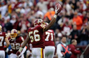 Redskins Re-Sign Perry Riley