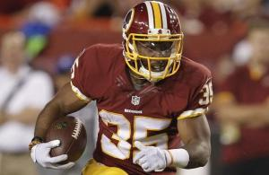 How Many Runningbacks Will Make the Redskins Final 53