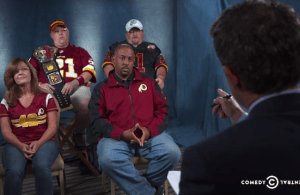 "An Inside Look at the Daily Show's ""Redskins Experience"""
