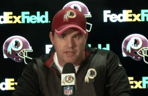 Redskins vs Seahawks Post Game Presser - Jay Gruden