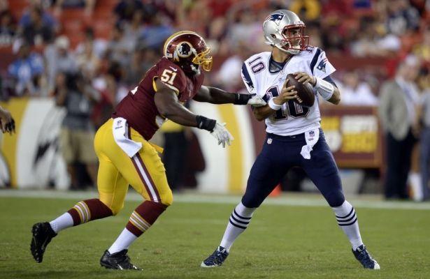 Redskins Sign Everette Brown; Place Brian Orakpo on Injured Reserve