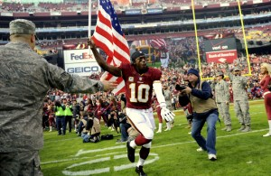 "Redskins & USAA to Recognize Veterans & Active Duty at ""Salute to Service"" Game Sunday"