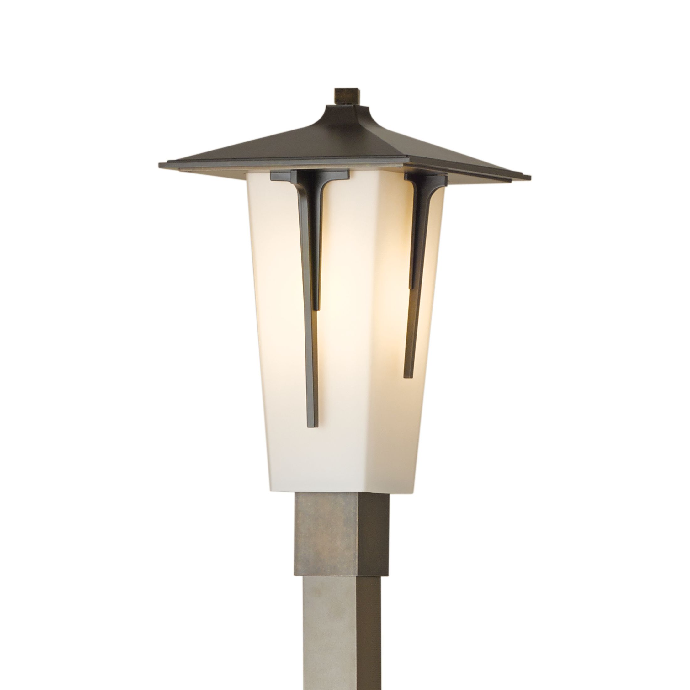 Contemporary Lamp Post Modern Prairie Large Outdoor Sconce Hubbardton Forge