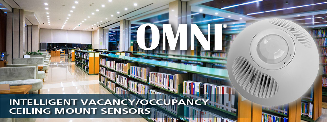 OMNI Ceiling Mount Vacancy/Occupancy Sensor Product Line Brand