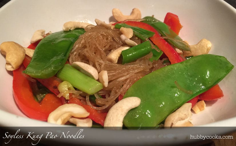 Soyless Kung Pao Noodles