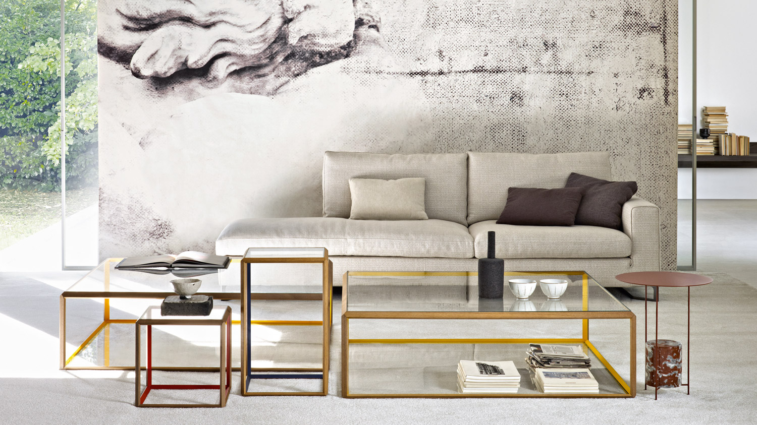 Hub Couchtisch 45 Coffee Tables By Molteni C Hub Furniture Lighting Living