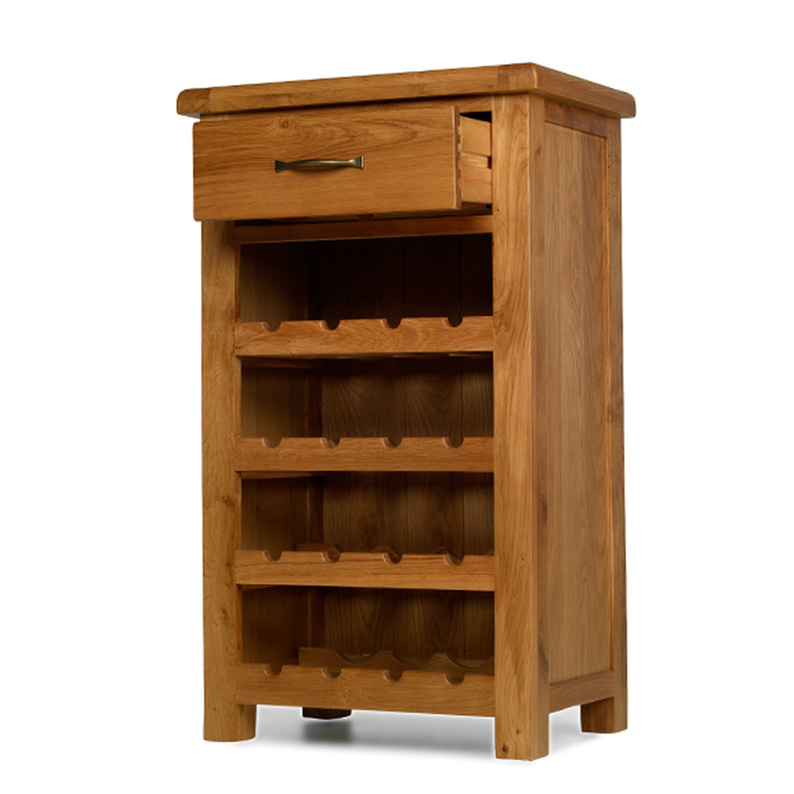 Small Wine Storage Cabinets Rushden Solid Oak Furniture Small Wine Bottle Cabinet Rack